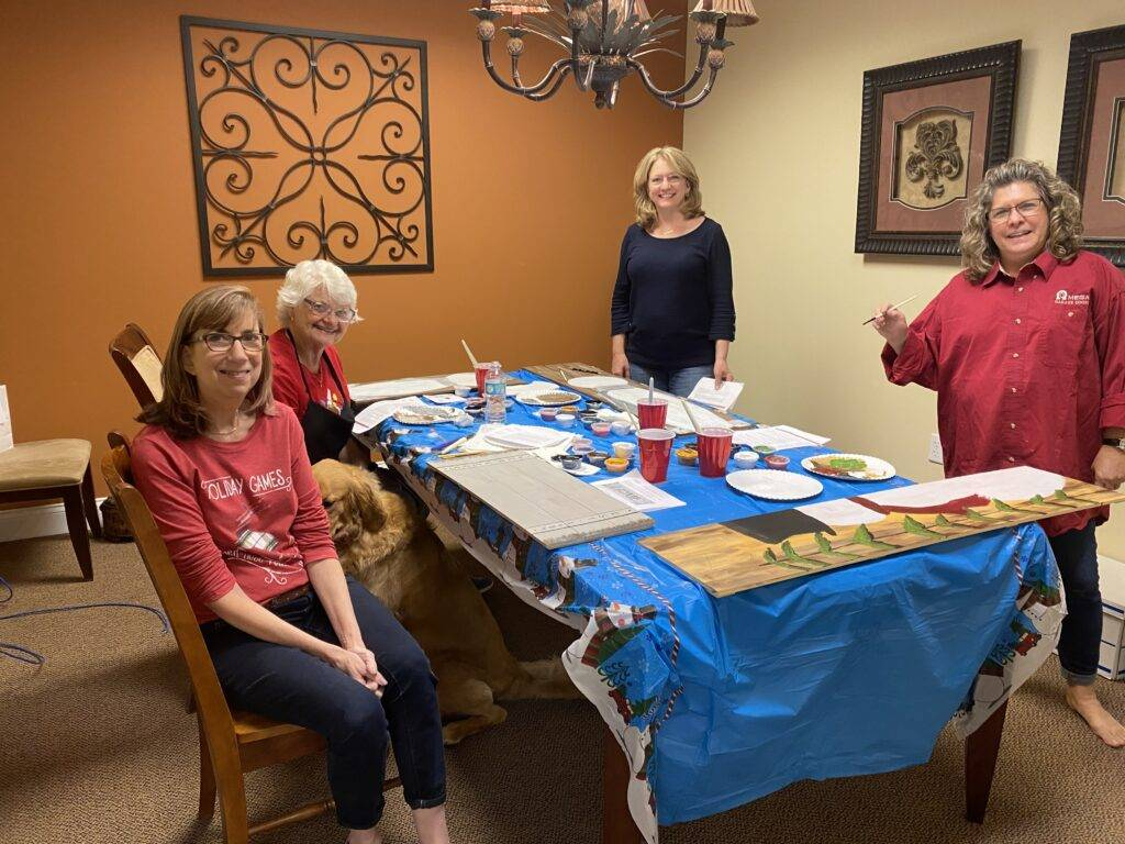 Holiday Painting Party 2020
